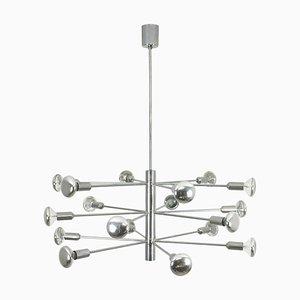 Modernist Chrome Sputnik Chandelier from Cosack, Germany, 1960s
