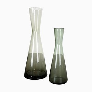 Turmalin Series Vases by Wilhelm Wagenfeld for WMF, Germany, 1960s, Set of 2