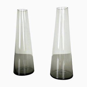 Turmalin Series Vasen von Wilhelm Wagenfeld für WMF, 1960er, 2er Set