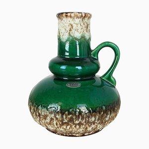 Multicolored Fat Lava Ceramic 402-21 Vase from Jopeko, Germany, 1970s