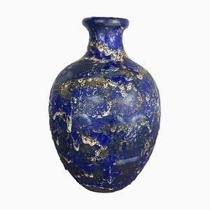Multicolored Fat Lava Ceramic 837 Floor Vase from Ruscha, 1970s