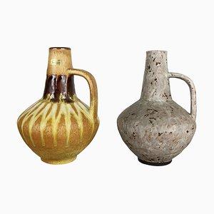 Keramikvasen von Heinz Siery für Carstens Tönnieshof, 1970er, 2er Set