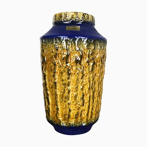 Fat Lava Ceramic Vase by Heinz Siery for Carstens Tönnieshof, Germany, 1970s