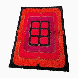 Wool Rya Rug from Hojer Eksport Wilton, 1970s, Denmark