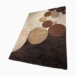 Large Colorful Ball High Pile Rug from Desso, the Netherlands, 1970s