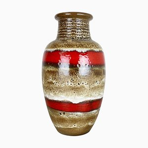 Fat Lava Keramik Bodenvase von Heinz Siery für Carstens Tönnieshof, 1970