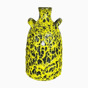 Vintage Fat Lava Keramikvase von Es Keramik, 1960er