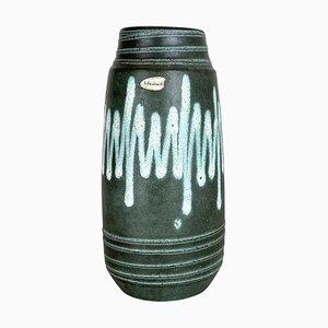 Zig Zag Pottery Fat Lava Vase from Scheurich, Germany, 1970s