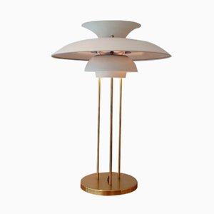 Lampe de Bureau, Modèle PH5, Blanche par Poul Henningsen pour Louis Poulsen