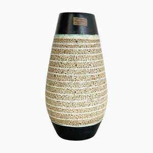 Vaso Fat Lava in ceramica di Heinz Siery per Carstens Tönnieshof, Germania, anni '60