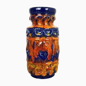 Bunte Fat Lava Keramikvase von Bay Ceramics, Deutschland, 1950er
