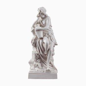 Escultura de mujer con ánfora de Royal Dux Bohemia