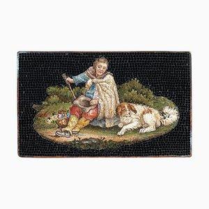 Micromosaico di pastore, inizio XIX secolo