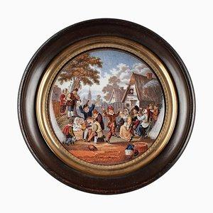 Miniatura smaltata, XIX secolo