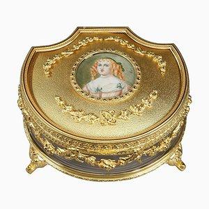 Jewelry Box with Portrait of Madame de Sévigné
