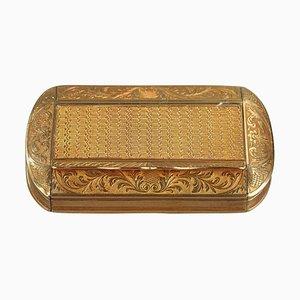 Restoration Period Gold Snuff Box, 1820-1830