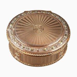 Louis XVI Gold Schnupftabakdose