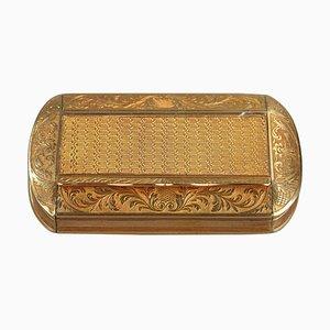 Restoration Period Gold Snuff Box
