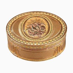 Louis XVI Schnupftabakdose in Gold