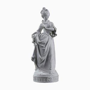 Estatua de Bisque de Paul Duboy