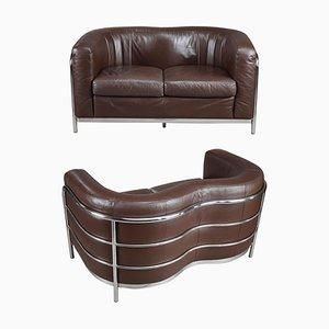 Zwei-Sitzer Onda Sofa von Zanotta, Italien