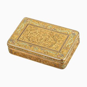 Early 19th Century Gold Box