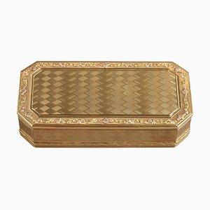 Goldene Schnupftabakdose, spätes 18. Jh