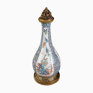 Spätes 19. Jh. Parfümflasche aus Porzellan von Samson, Paris
