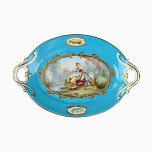Tazza in porcellana blu, XIX secolo