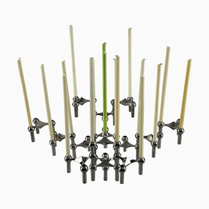 Modular Candlestick and Jardinière by Nagel, Set of 15
