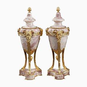 Große Urnen im Louis XVI-Stil, 19. Jh., 2er Set