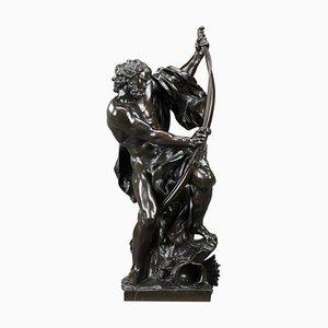 Soldier Bending His Bow im Stil von Jacques Bousseau