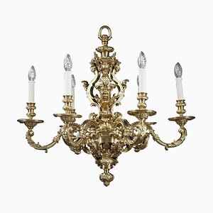 Louis XIV Style Chandelier with 6-Lights