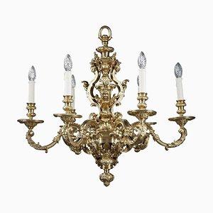 Lustre Style Louis XIV à 6 Lampes