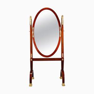 French Restoration Rocking Mirror