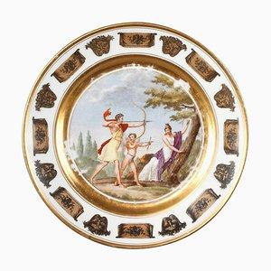 Assiette Empire par Athanase Marie Martin pour Coquerel & François Antoine Legros