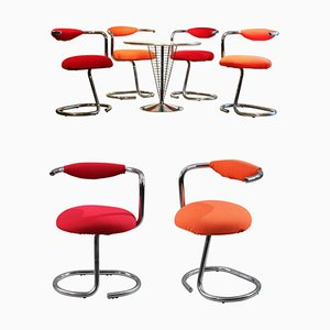 Cobra Chairs by Giotto Wick from Alessi, Set of 8