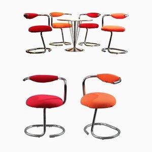 Cobra Stühle von Giotto Wick von Alessi, 8er Set