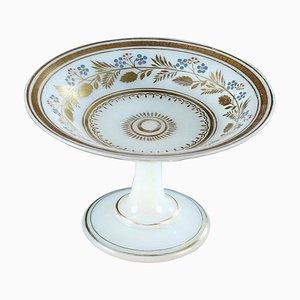 Charles X Opaline Platter by Jean-Baptiste Desvignes