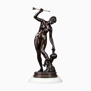 Bronze Venus and the Love Sculpture