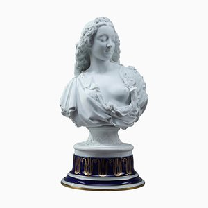 Charles-Auguste Arnaud and Henri Ardant, Spring, Allegorical Bisque Bust