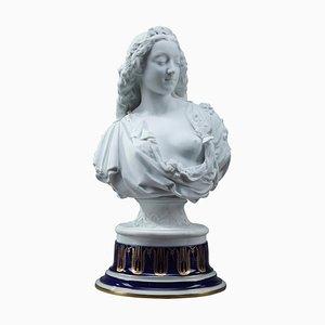 Charles-Auguste Arnaud und Henri Ardant, Spring, Allegorical Bisque Bust