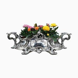 Napoleon III Period Silvered Bronze Centerpiece