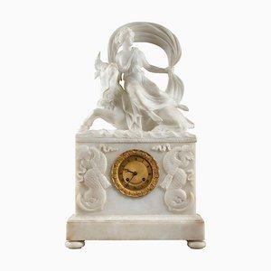 Reloj The Abduction of Europa de alabastro