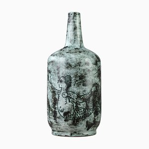 Jarrón de cerámica de Jacques Blin, años 50