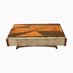20th Century Marquetry Coffee Table