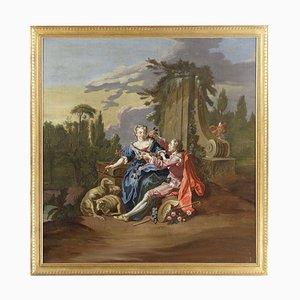Después de François Boucher, The Gallant Shepherd, Framed