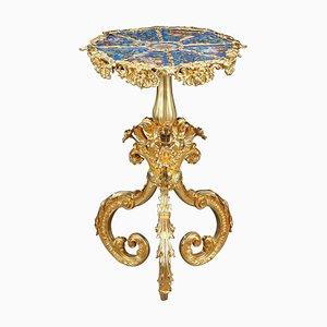 19th Century Rocaille Style Porcelain Gueridon Table