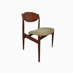 Chaises en Teck par Leonardo Flowers pour Isa 1960s, Set de 6