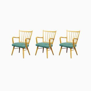 Casala Armchair with Rungs and Armrests, 1950s